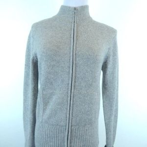 JAMES PERSE ZIP Cashmere CARDIGAN SWEATER 4 xl